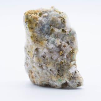 Mixite, quartz et barytine, Faymont, Val d'Ajol, Vosges.