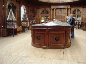 La salle la plus ancienne du musée