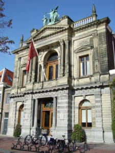 Le Teylers Museum de Haarlem, Pays-Bas.