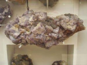 Une des fluorites d'un des meubles.