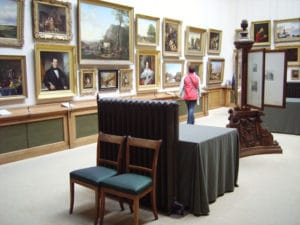 Le Teylers possède également une très belles collections de tableaux.