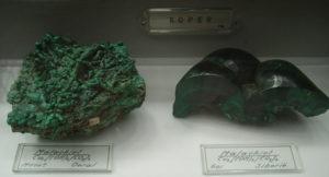 Malachite, Oural et Sibérie.