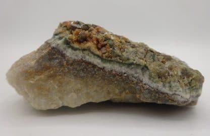 Vésuvianite (idocrase), Vésuve, Italie.