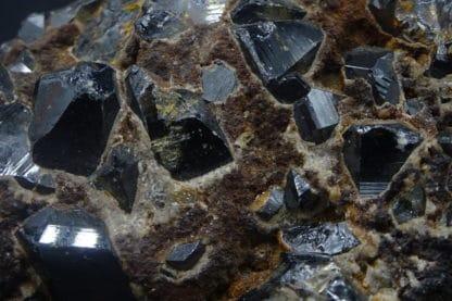 Cassitérite, Bolivie.