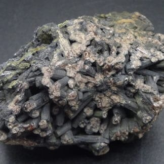 Sexangulite en provenance de Huelgoat, Finistère, France