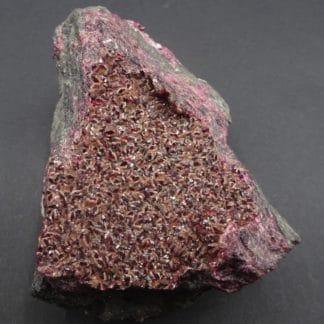 Rosélite et Wendelwilsonite, mine de Bou Azzer, Maroc.