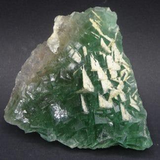 Fluorine verte et Barytine, filon du Figuier, mine de Fontsante, Var.