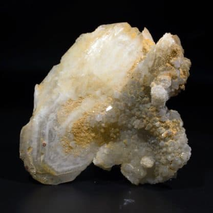 Barytine et quartz, mine de Fontsante, Var.