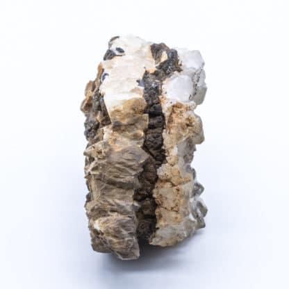 Filon de quartz avec blende / sphalérite, Huelgoat, Finistère.