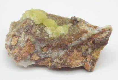 Smithsonite sur smithsonite, Altenberg, La Calamine, Moresnet, Belgique.
