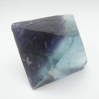 Fluorine bleue avec zonage violet, Seilles, Belgique.