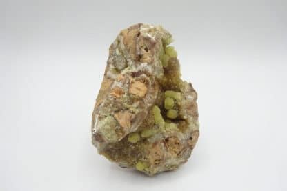 Smithsonite sur smithsonite, Altenberg, La Calamine (Kelmis), Belgique.