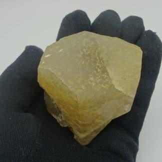Calcite jaune, Landelies, Hainaut, Belgique.