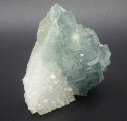 Fluorite bleue et quartz, Sud 3, Fontsante, Var.
