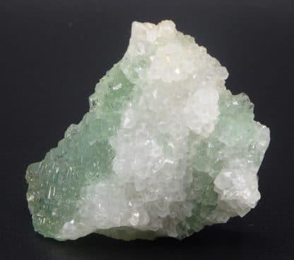Fluorite verte polysynthétique et Quartz, Fontsante, Var.