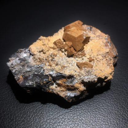 Sturmanite, N'Chwaning mine, Hotazel, Afrique du Sud.