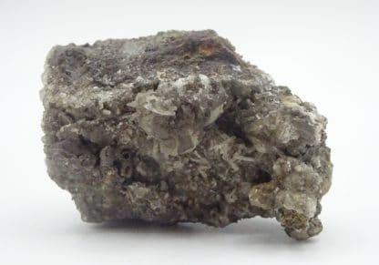 Embolite dans Calcite, Chanarcillo, Chili.