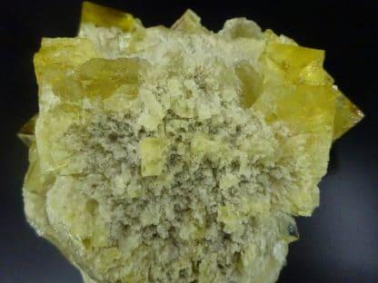 Fluorine jaune, Puy-Saint-Gulmier, Herment, Puy-De-Dôme.