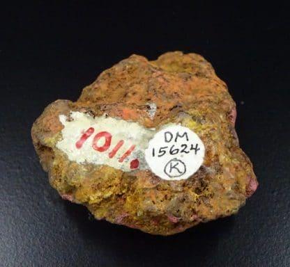 Cinabre, mine de Las Cuevas, Almadén, Espagne.