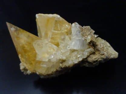 Calcite, carrière de Glageon, Avesnois, Nord.
