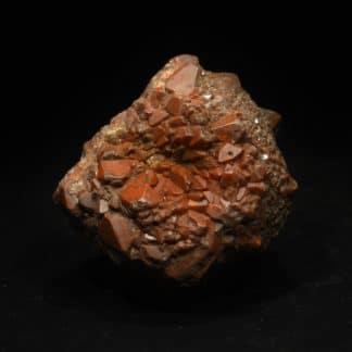 Quartz hématoïde, Saint-Jacques-de-Compostelle, Galice, Espagne.