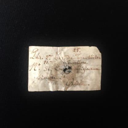 """Quartz hématoïde """"Saint-Jacques de Compostelle"""" , Espagne."""