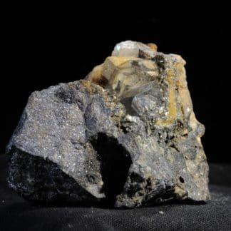 Anglésite, Mine de Monteponi, Iglesias, Province de Carbonia-Iglesias, Sardaigne, Italie.