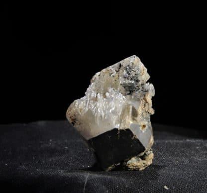 Phosgénite, Monteponi, Iglesias, Carbonia-Iglesias, Sardaigne, Italie.