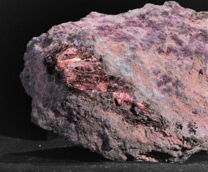 Erythrine, Mine de Bou-Azzer, Province de Ouarzazate, Maroc.