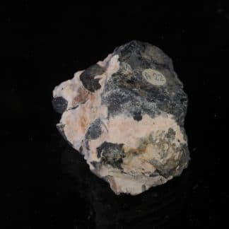 Bornite, Barytine, Mine de Bou Skour, Région du Drâa-Tafilafet, Maroc.