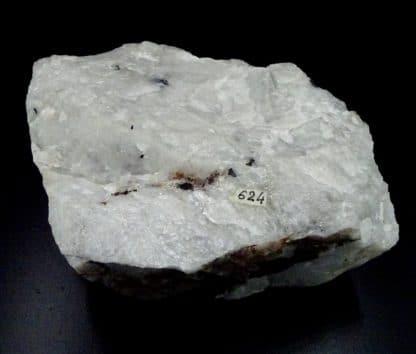 Wolframite, scheelite, quartz, Montredon-Labessonnié, Tarn.