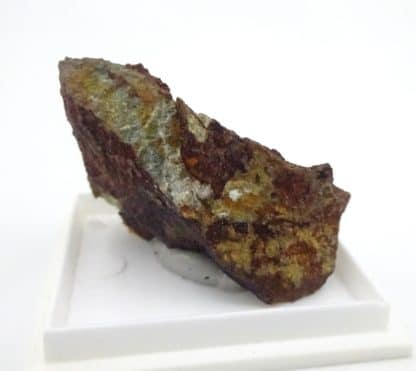 Cuprite, mine de Salsigne, Aude, Occitanie.