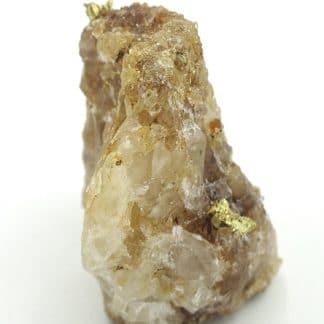 Or natif sur quartz, La Gardette, Villard-Notre-Dame, Isère.