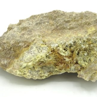 Tellurite, mine Bambolla, Moctezuma, Sonora, Mexique.