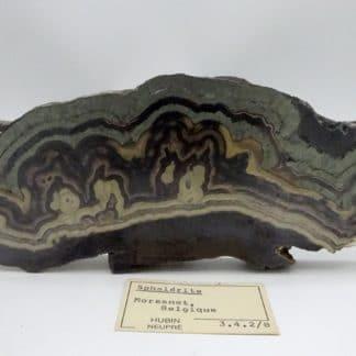 Schalenblende, LontzenSchalenblende, Schmalgraf, mine de Lontzen, Moresnet, Belgique., Moresnet, Belgique.