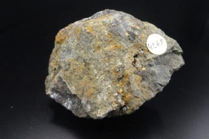 Sphalérite, galène, mine de Longvilly, Bastogne, Belgique.