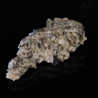 Bournonite, Pyrite, Calcite et Dolomie, Usclas du Bosc, Loiras, Hérault.