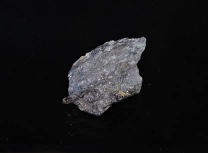 Blende (sphalérite) noire dans du quartz, Mine des Bormettes, La-Londe-les-Maures, Var.