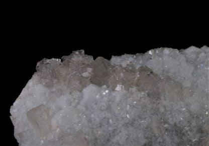Fluorine et Quartz, Mine de Fontsante, Les-Adrets-de-l'Esterel, Var.