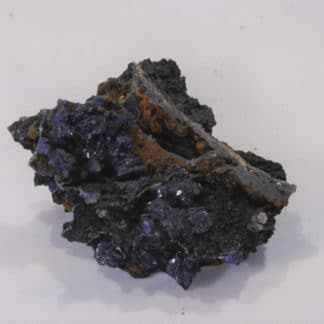 Azurite, Mine du Moulinal, Tarn, France.