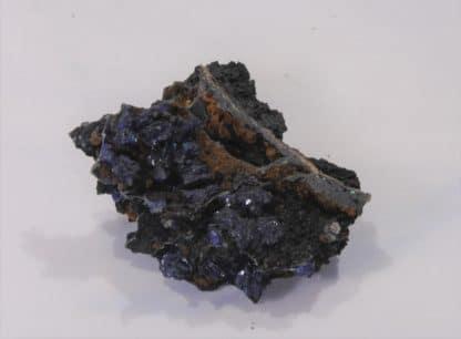Azurite, Mine du Moulinal, Tarn, France.