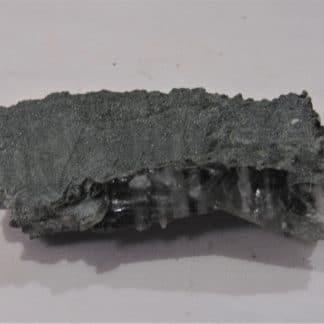 Quartz chloriteux zébré, Les Contamines, Haute-Savoie.