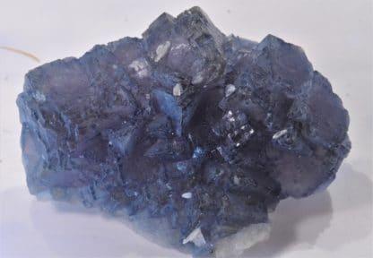 Fluorine encre et barytine, Mine de Fontsante, Les-Adrets-de-l'Esterel, Var, Provence.