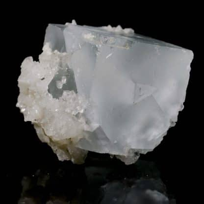 Fluorine et quartz, Mine de Mont-Roc (Montroc), Tarn.