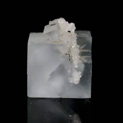 Fluorine et quartz, Mine de Mont-Roc ( Montroc), Tarn
