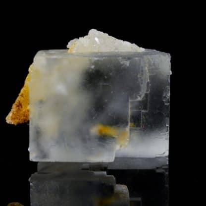 Fluorine et quartz, Mine de Mont-Roc, Tarn.