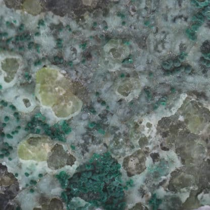 Smithsonite et malachite, Chessy, Rhône.