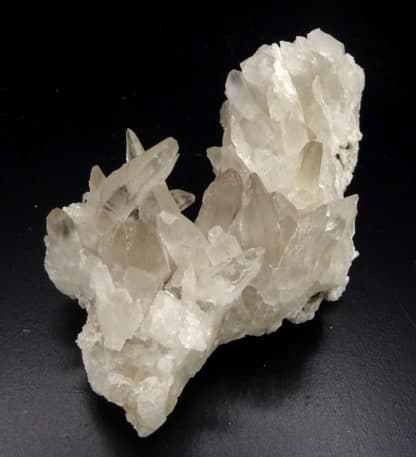 Quartz fumé, Nil-Saint-Vincent, Brabant-Wallon, Belgique.