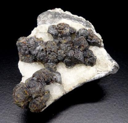 Sphalérite (Blende), mine de Plombières (Bleyberg), province de Liège, Belgique.