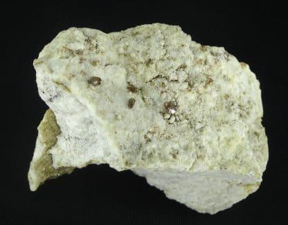 Titanite (sphène), Piz Vallatscha, vallée de Medel, Grisons, Suisse.